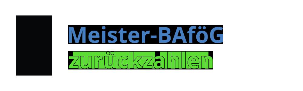 Meister-BAföG zurückzahlen